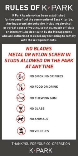 K-Park Rules