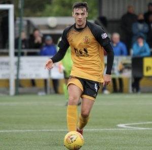 Kyle Bradley, during his spell at Annan Athletic