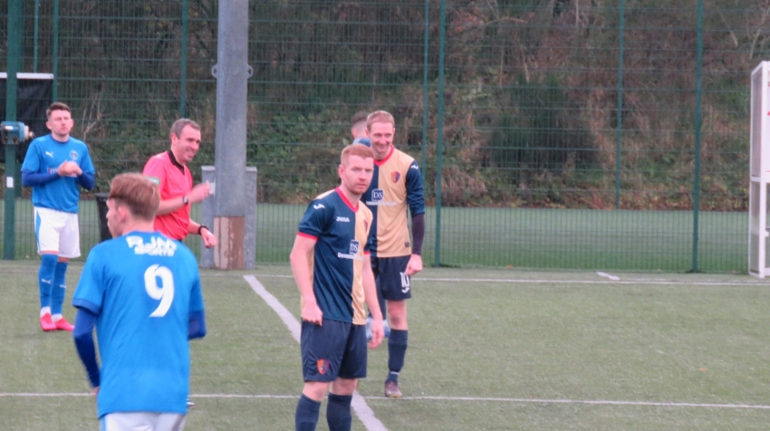 Craig Malcolm was on target as EK drew 1-1 with Bo'ness